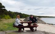 lunch vid Ystad Sandskog...