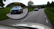 Oldsmobile Cuttlass Supreme Hardtop Sedan 5,7 liters V8 264 hk 1971 möter en Volvo S80 från 2004...