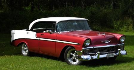 Chevrolet Bel Air 1956 års modell...