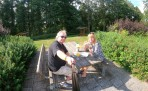 första pausen efter Alingsås...