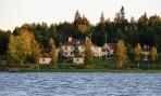 här bodde vi första fyra nätterna, Trollnäs Hotell och pensionat...