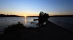 mera solnedgång ute på sandrevet...