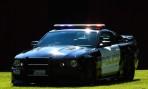 Ford Mustang GT 2007 i polisuniform...