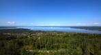 utsikt från Vidablick över Rättvik och Siljan...