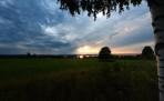 kvällsnöjet, se ut över denna underbara utsikt ner mot Orsa sjön...