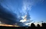 fantastisk himmel...