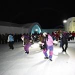 Dans vid Ishotellet i Jukkasjärvi
