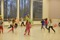 Barn dansar vid workshop Dans i skolan-biennal 2014, foto av Hans-Olof Utsi