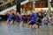 Dansmanifestation i Kirunas stadshus