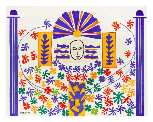 Apollon av Henri Matisse i Moderna Museets samling