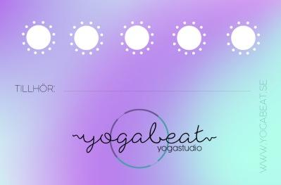 Yoga 5-kort