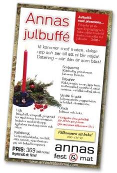 Klicka på bilden för att öppna och ladda ner Annas julbuffé som pdf-fil