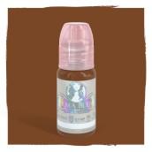 Burnt Sienna - Detta är ett varmt brunt pigment. Den kan användas för ögonbryn. Kan användas för att värma upp andra färger. Eller användas själv för kunder som vill ha en varmbrun färg.
