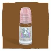 Terra Cotta - Detta är ett varmt pigment som kan användas för ögonbryn på kunder som vill ha en ljus/mellanbrun varm färg.