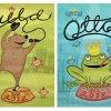 Specialgjorda namntavlor i A3 till tvillingarna Arild & Otto