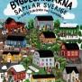 Omslag till Bygdegårdarnas riksförbunds jubileumsbok 2019