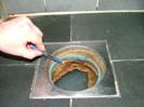 VÅTRUM: Fel med fuktskydd och golvbrunn upptäcktes vid BOE:s besiktning efter utfört rotarbete