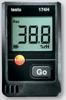 BOE:s Fukt-/temperaturlogger med display för kort och långtidsmätning (mätvärden sparas för senare avläsning i diagram över tiden) inne i byggnadskonstruktion