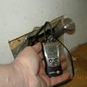 Fuktmätning väggens träsyll och fuktkvot i %