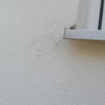 Fuktkontroll enstegstätad fasad