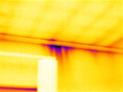 Termografering upptäckte byggfusk som lett till fukt och mögelproblem.