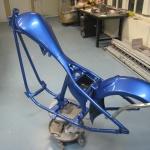 Mkher blå