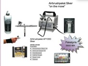 "Airbrushpaket Silver ""on the move"""