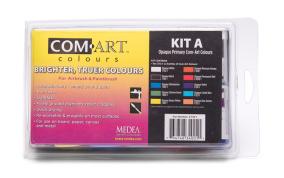 Com Art färgkit A-H