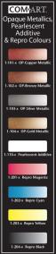 Com-Art Airbrushfärg Metallic/Pearl/Repro 28 ml
