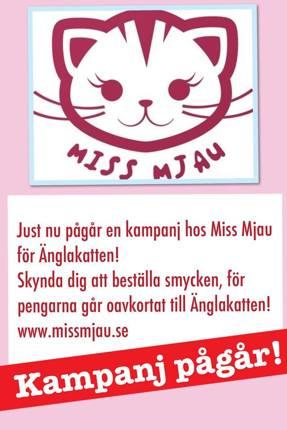 Tusen tack till Miss Mjau!!!