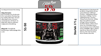 5% Nutrition 5150 - 5150 - 5% Nutrition Wildberry