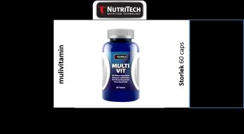 NuiriTech dailyvitamin 60 Caps - Dailyvitamin