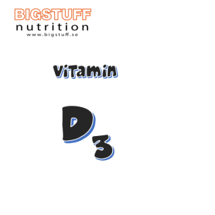 BIGSTUFF Vitamin D3 Tabletter 5000 IE 90 tabs