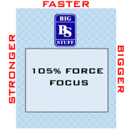 105% FORCE FOCUS 90caps