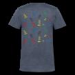Supermjuk T-shirt med V-ringning herr