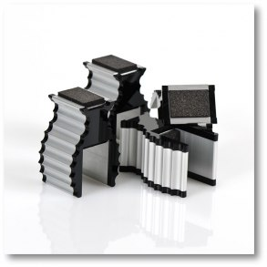 Apparatus-Supports 4/pack - Apparatus-Supports Black 4pack