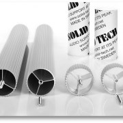 Silver Anodised Corner-Pillars Custom Lengths (pair)