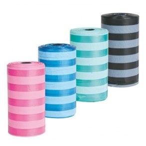 Bajspåsar olika färger - 20 per rulle - Bajspåsar olika färger - 20 per rulle