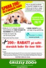 Sollentuna Veterinärklinik - Grizzly Zoo Hundens Dag