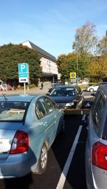 2 timmars gratisparkering vid Häggviksvägen 16