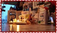 Julstämning på Sollentuna Veterinärklinik