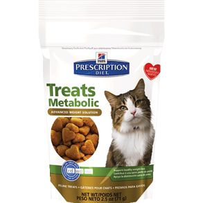 Prescription Diet Feline Metabolic Treats -