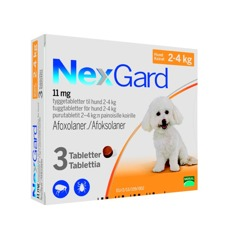 Sollentuna Veterinärklinik fästingmedel till hund NexGard