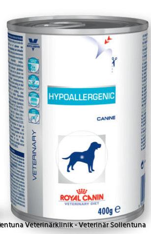 Sollentuna veterinärklinik - Royal Canin Veterinary Diets Hypoallergenic burk