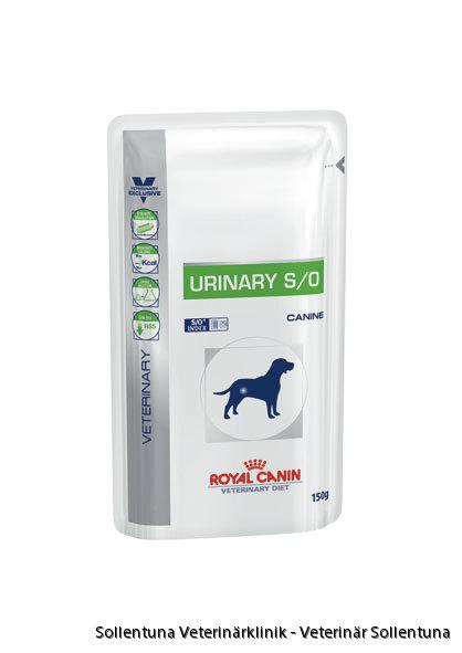 Sollentuna veterinärklinik - Royal Canin Veterinary Diets Urinary S/O påse