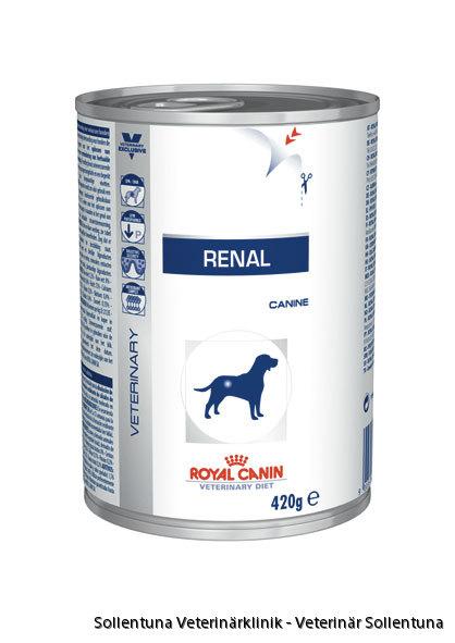 Sollentuna veterinärklinik -Royal Canin Veterinary Diets Renal burk
