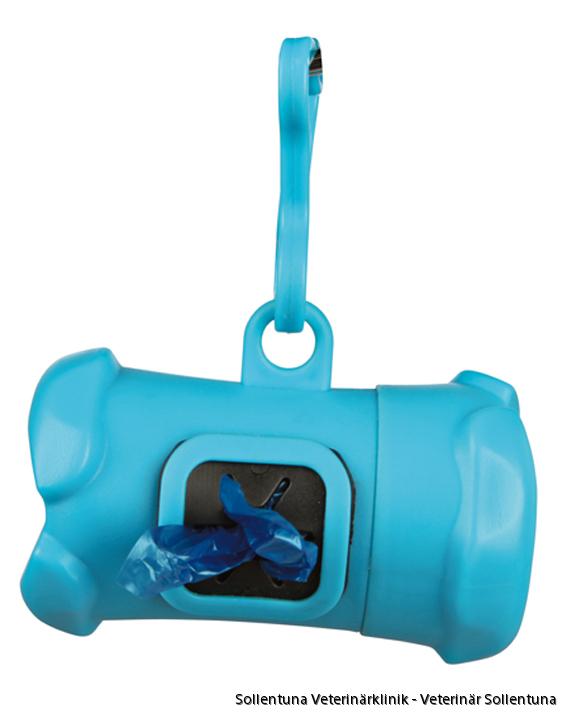 Sollentuna Veterinärklinik - Bajspåsehållare blå