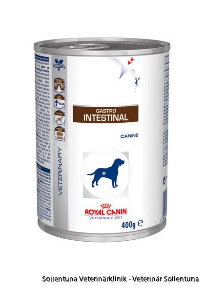 Sollentuna veterinärklinik -Royal Canin Veterinary Diets Gastro Intestinal burk