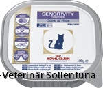 sollentuna veterinärklinik Royal Canin Veterinary Diets Sensitivity Control tray