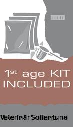 1st age kit inkluderat i förpackningen